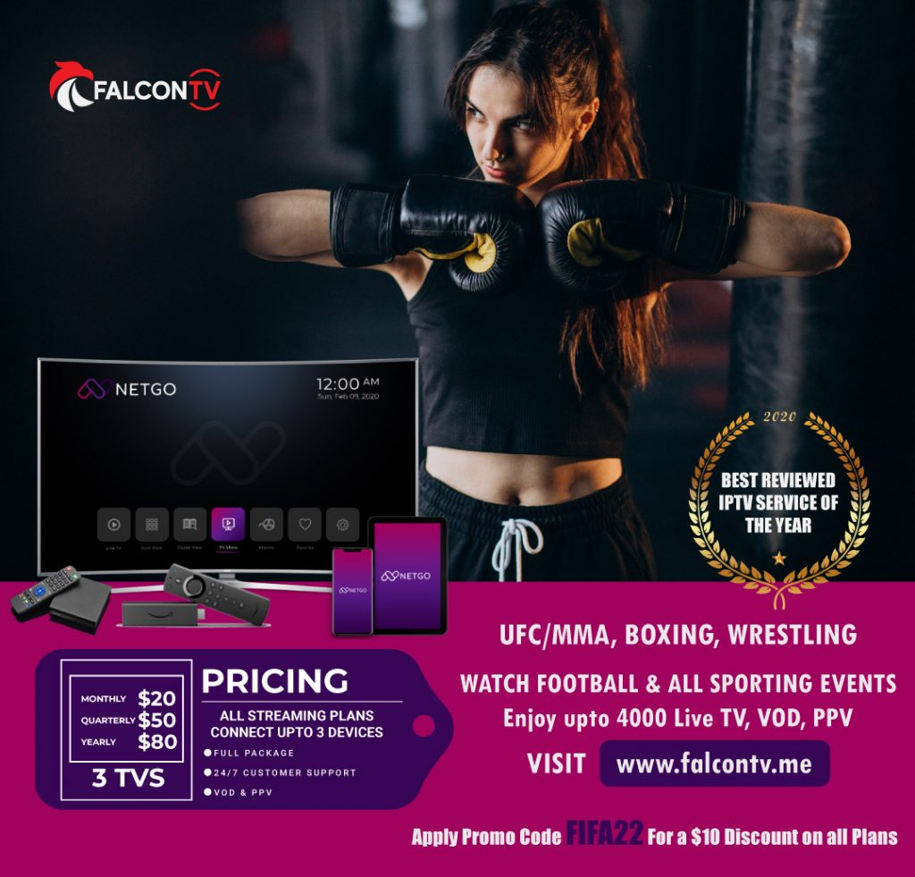 UFC ppv schedule with Falcon Promo